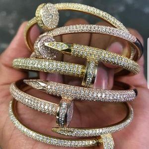DIAMOND CARTIER  NAIL BRACELETS